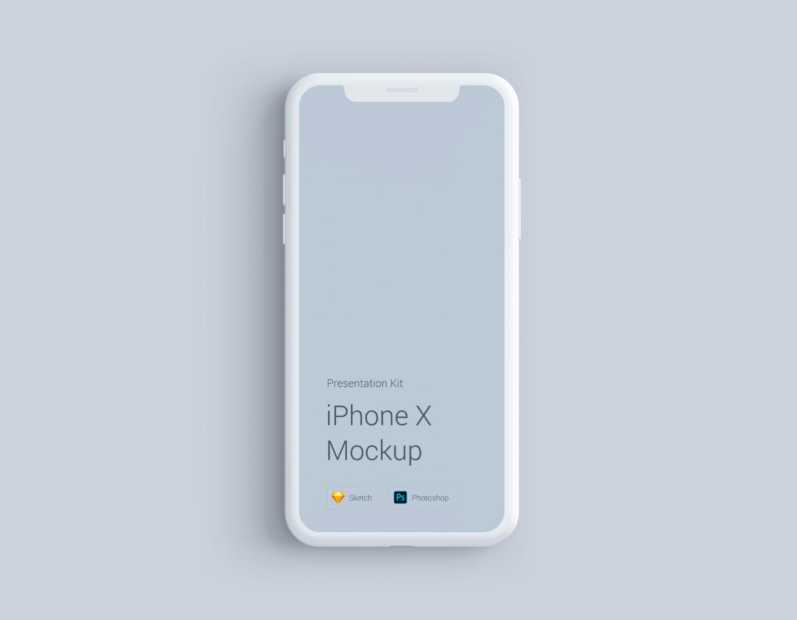 iPhone Mockup White