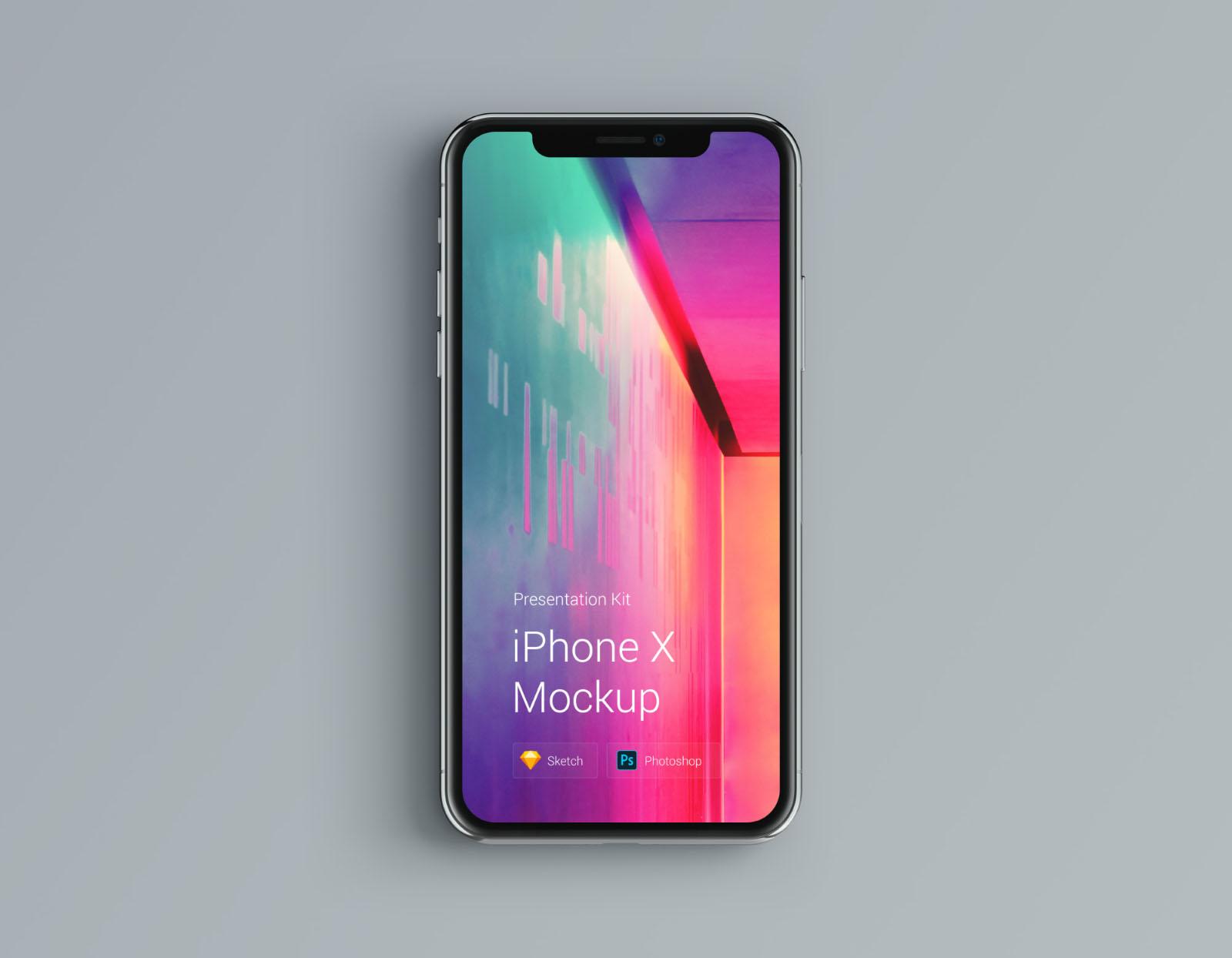 iPhone Mockup Editable Colors