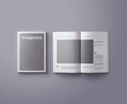 A4 & US Letter Magazine Mockup