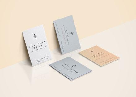4 Business Card Mockups