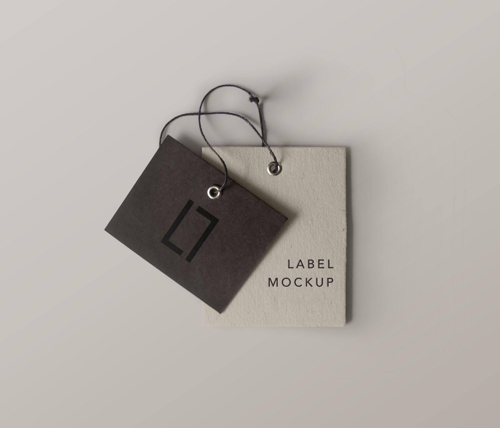 Double Brand Label Mockup