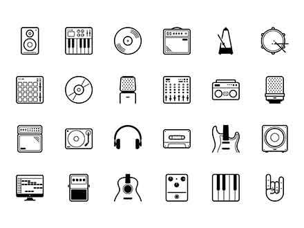 Vector Studio Icons