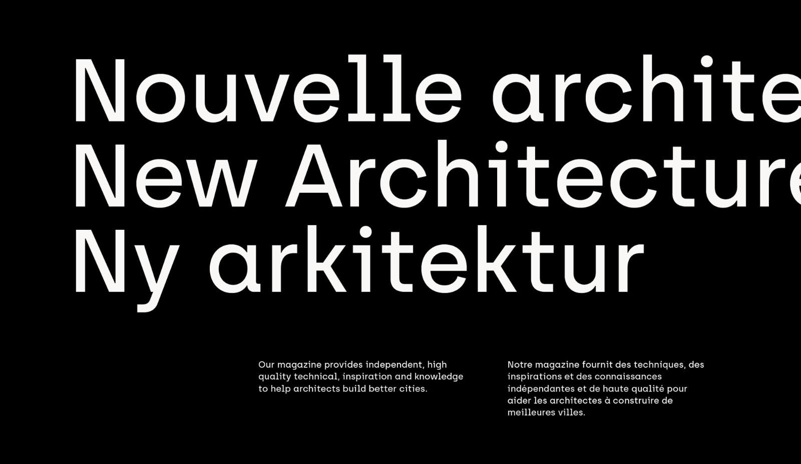Archia Modern Simple Font