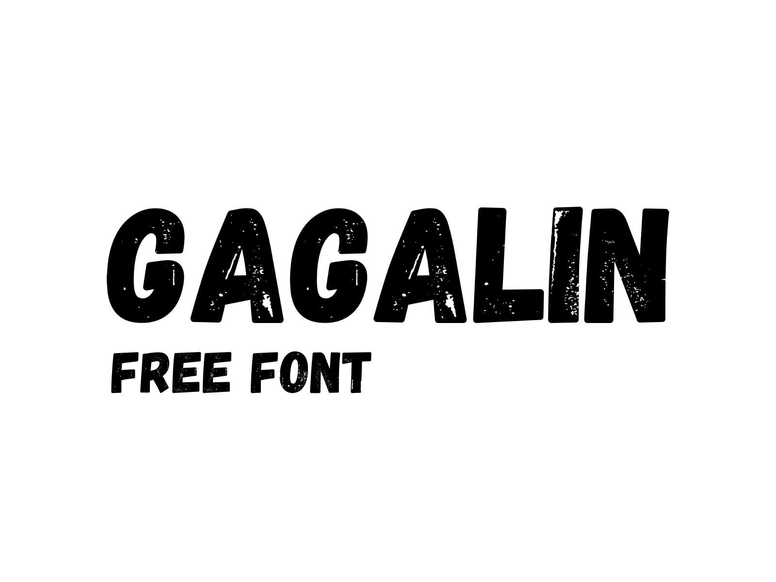 Gagalin Comic Font