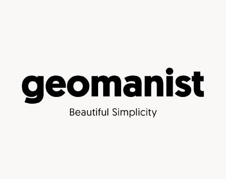 Geomanist Minimal Font