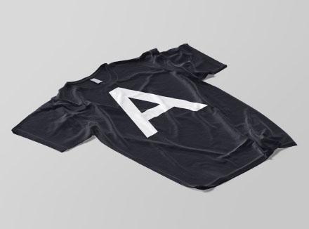Isometric T-Shirt Mockup PSD
