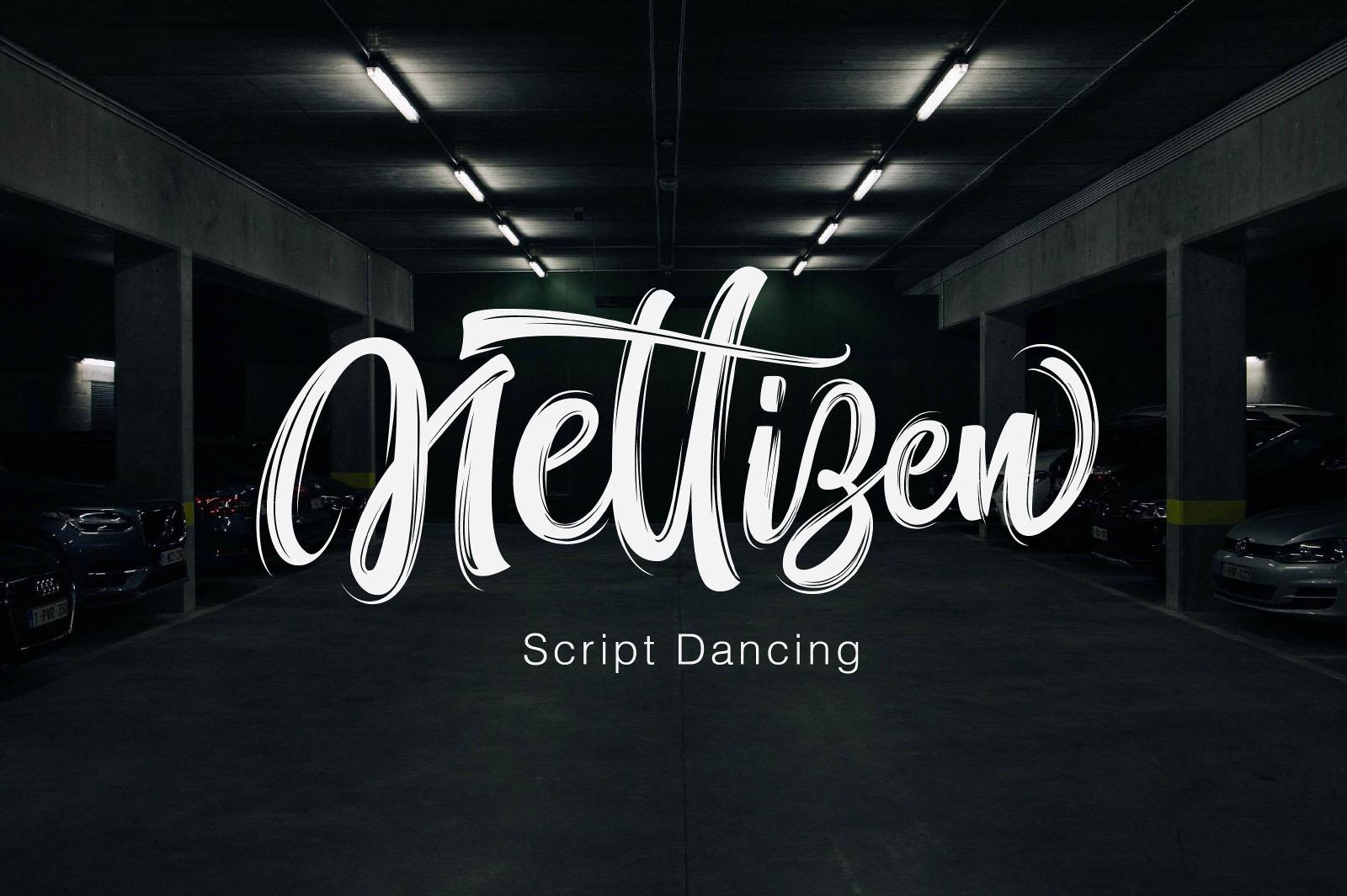 Nettizen Script Dancing Font