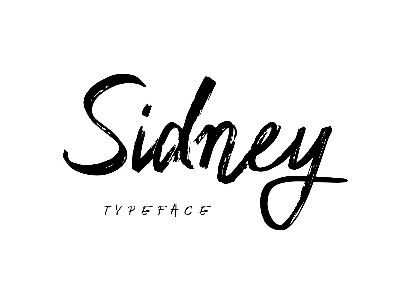 Sidney Script Typeface