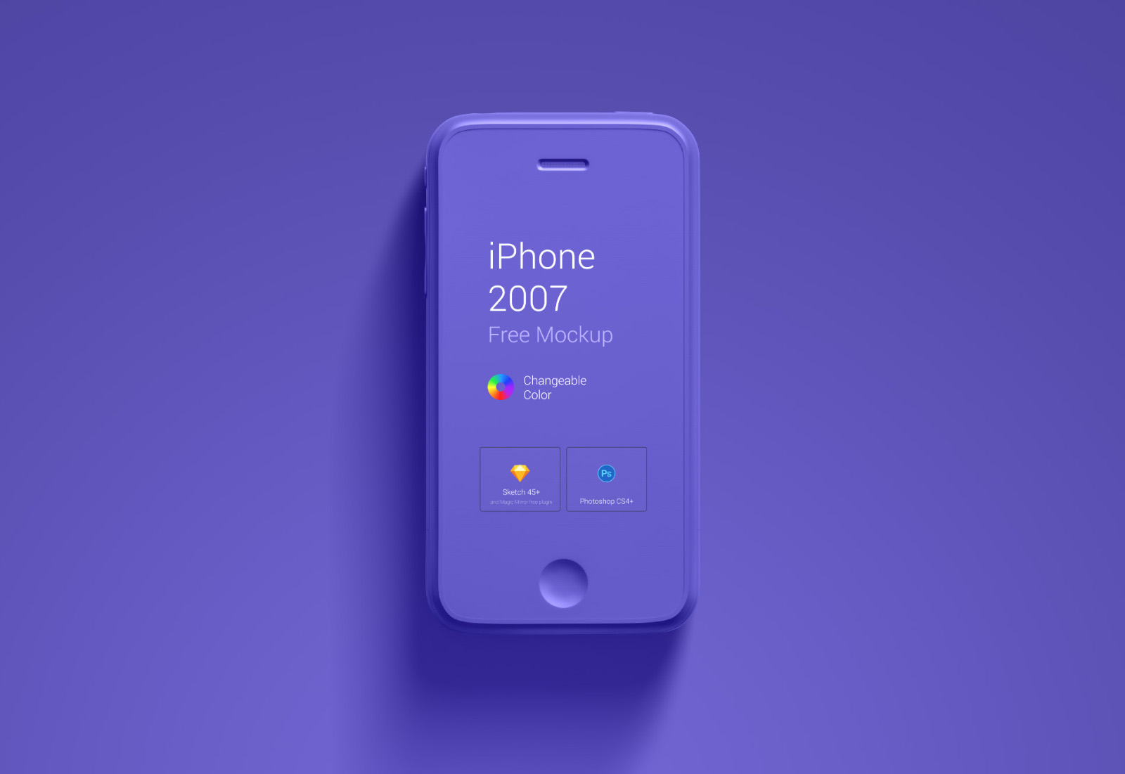 First Generation iPhone Mockup