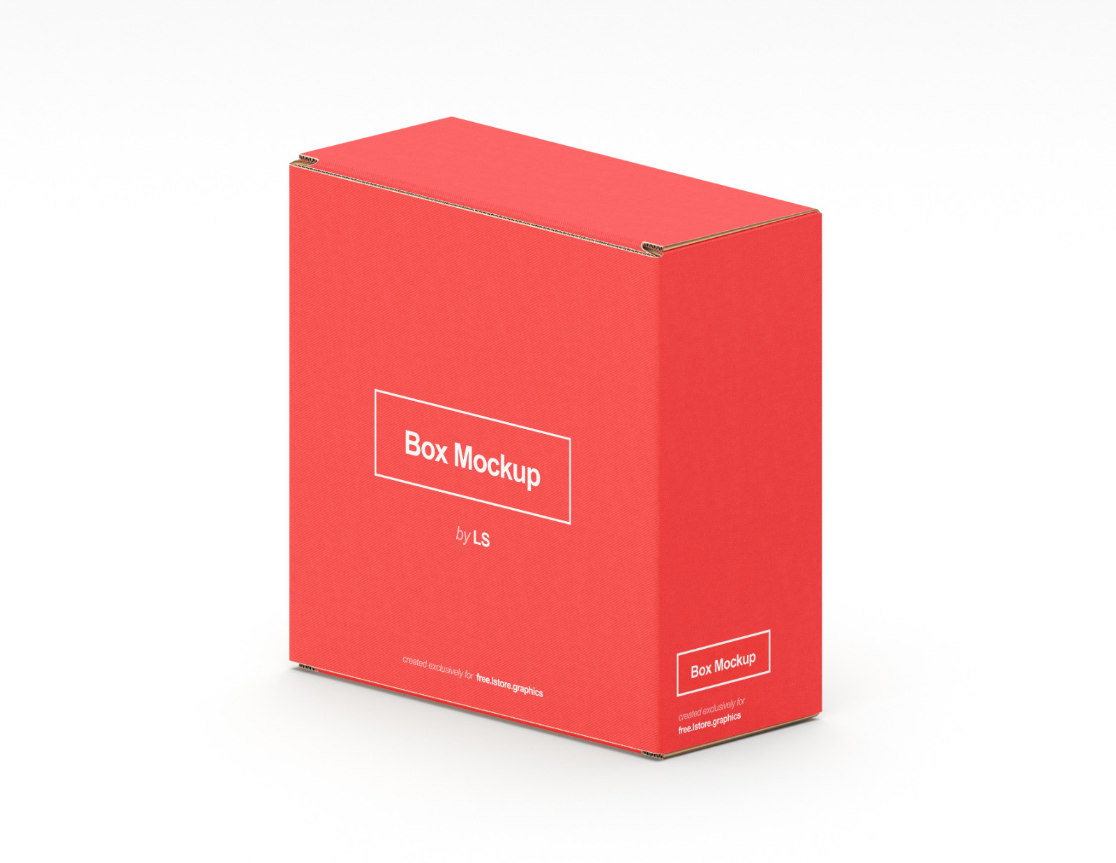 Package Box Mockups PSD