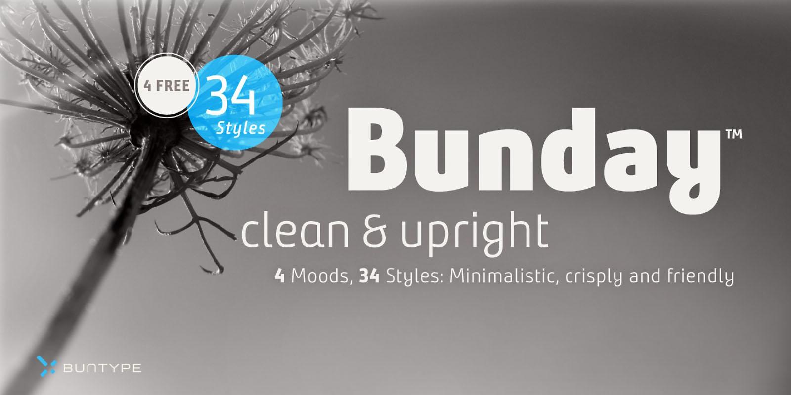 Bunday Font