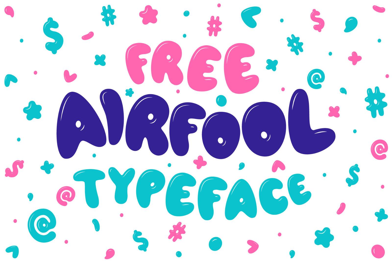 Free Airfool Comic Font