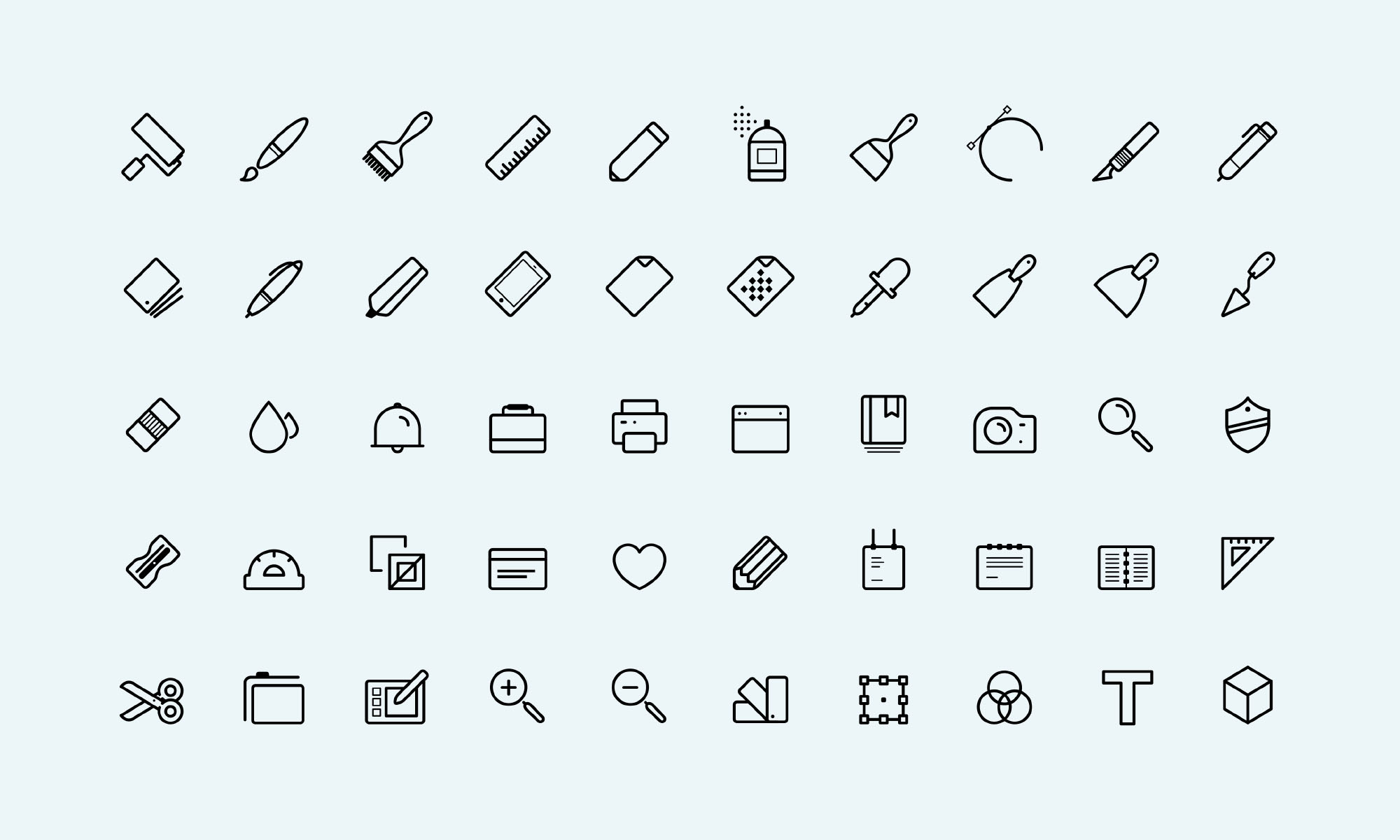 50 Free Art Icons