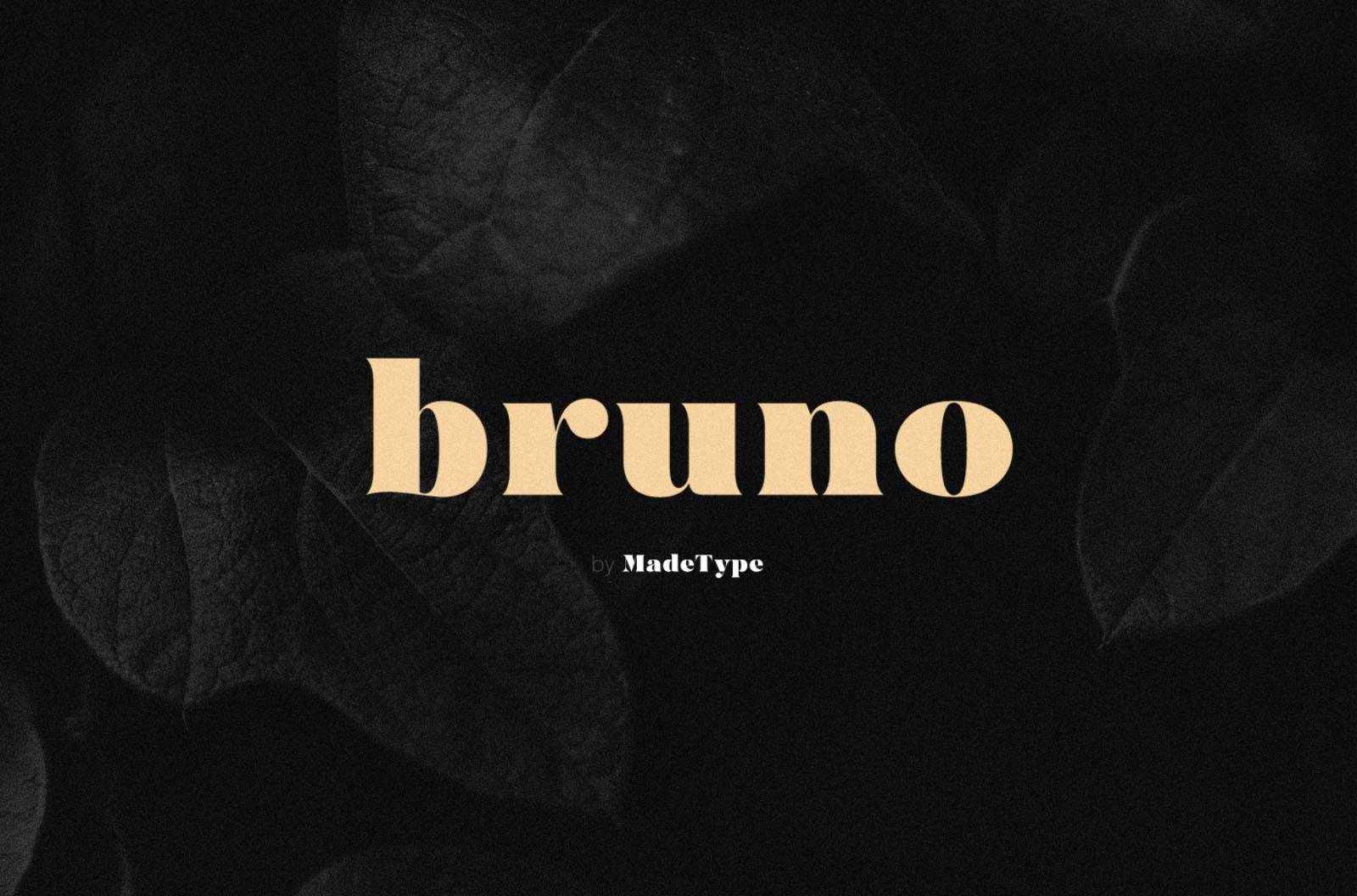Made Bruno Font