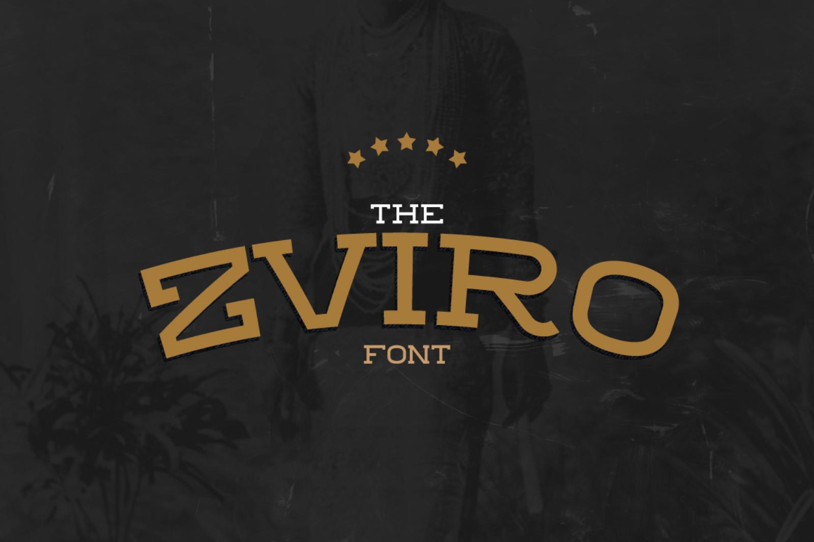 Zviro Font