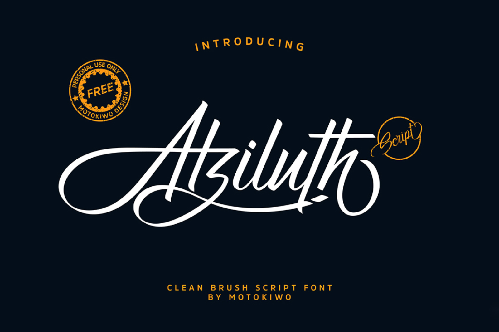 Calligraphy Fonts - Atzilith Font