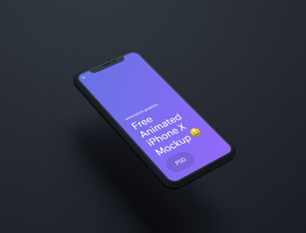 iPhone X Animated Mockup