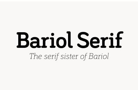 Bariol Serif Font