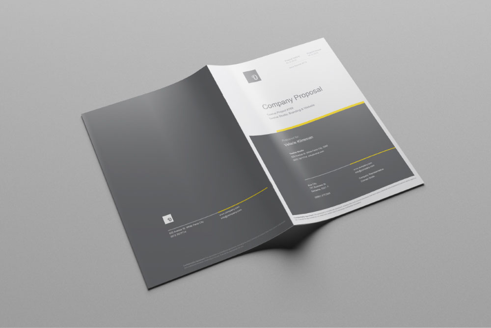Company Business Proposal Template
