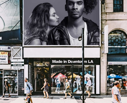 Downtown Billboard Mockup