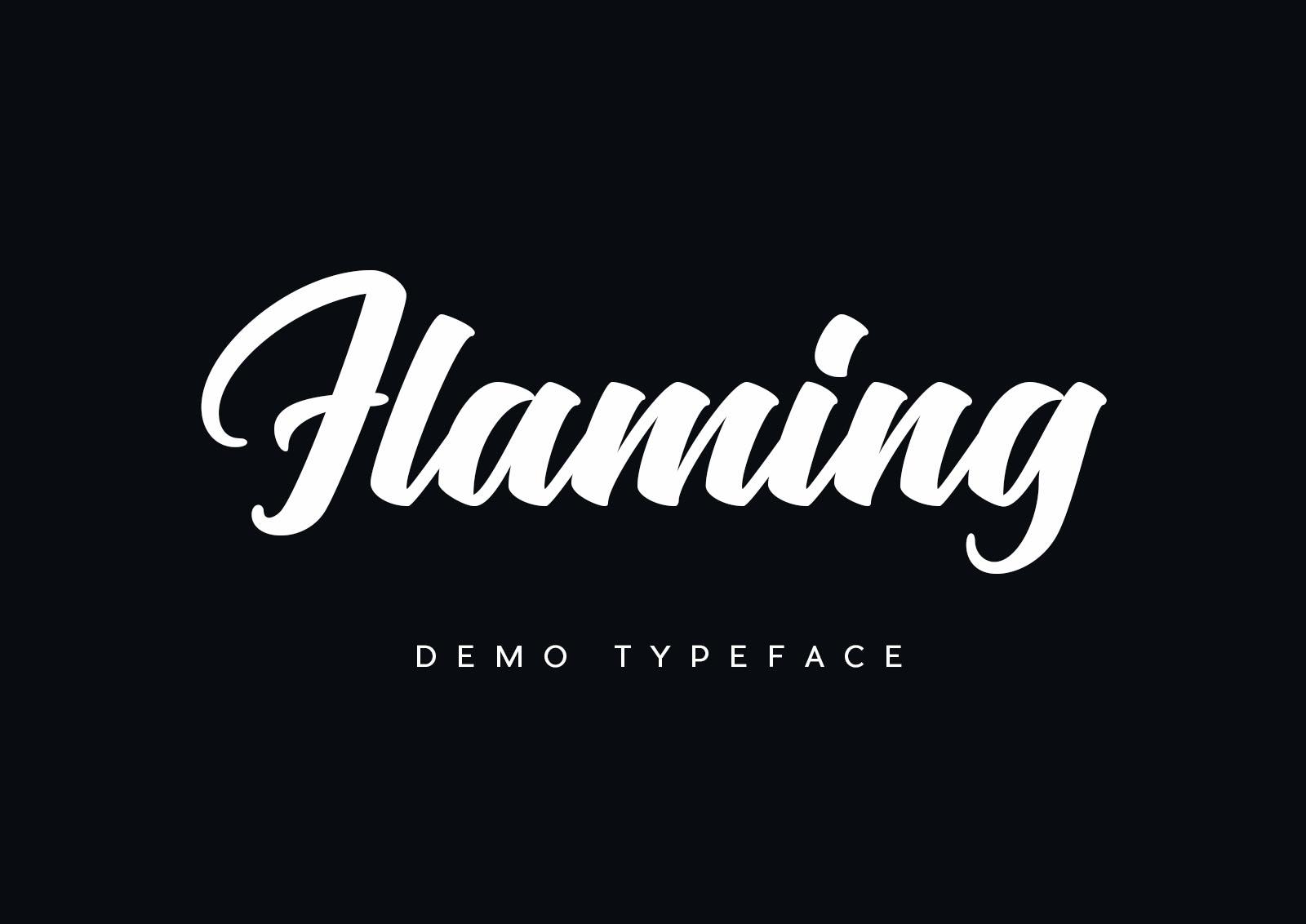 Flaming Free Font