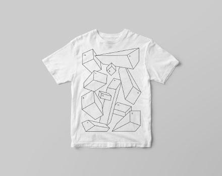 Free Small Size T-Shirt Mockup PSD