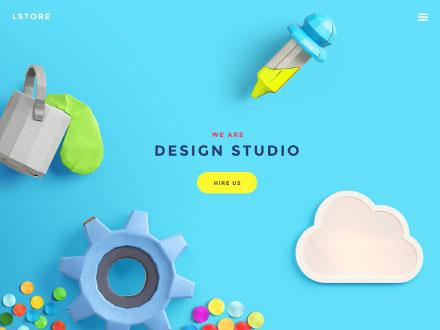 Website Header Image Creator Mockup