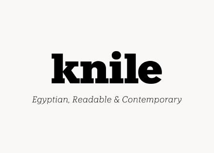 Knile Slab Serif Font