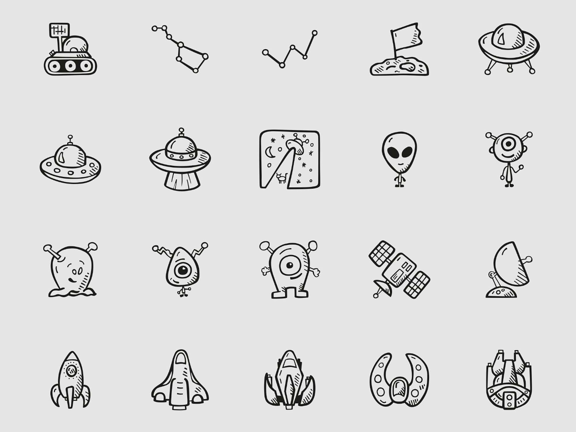 Space Icons 2