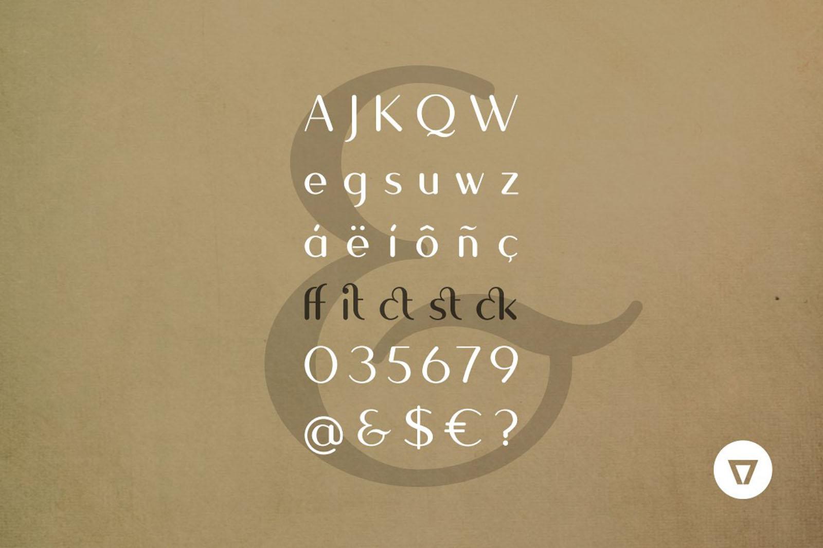 Quesha Modern Classic Font