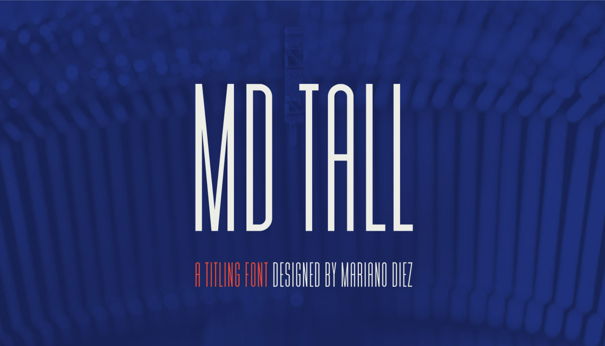 MD Tall Font
