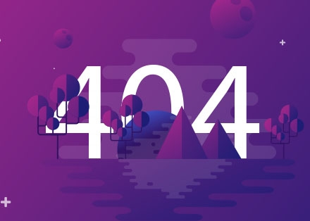 404 Website Page Template