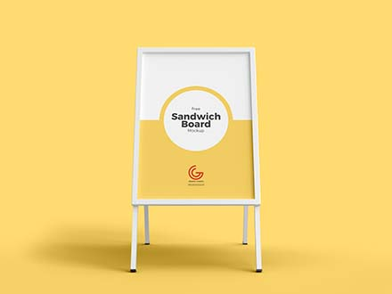 Advertisement Board Mockup