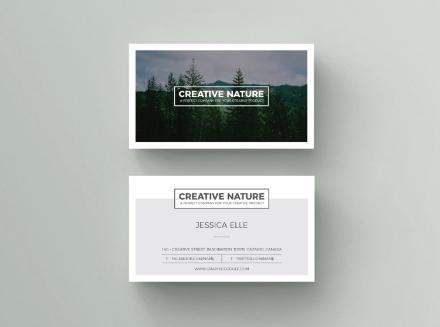 Artist Business Card Template