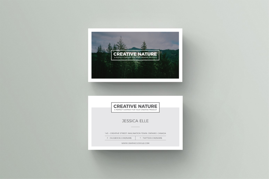 Artist business card template colourmoves