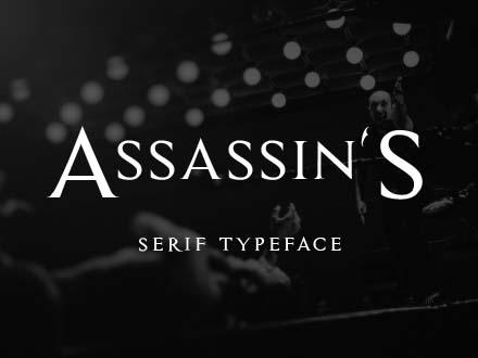 Assassin Serif Font