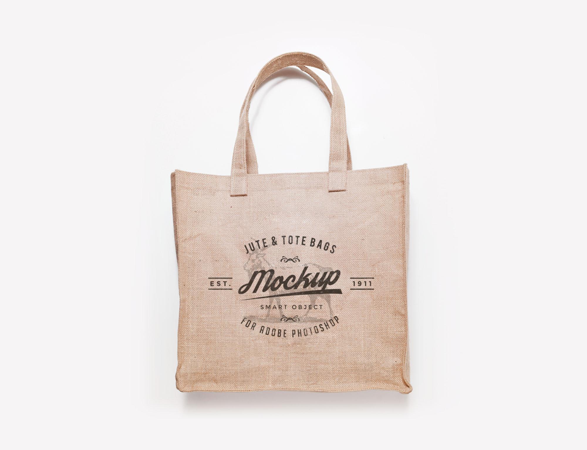 Jute Bags Mockup