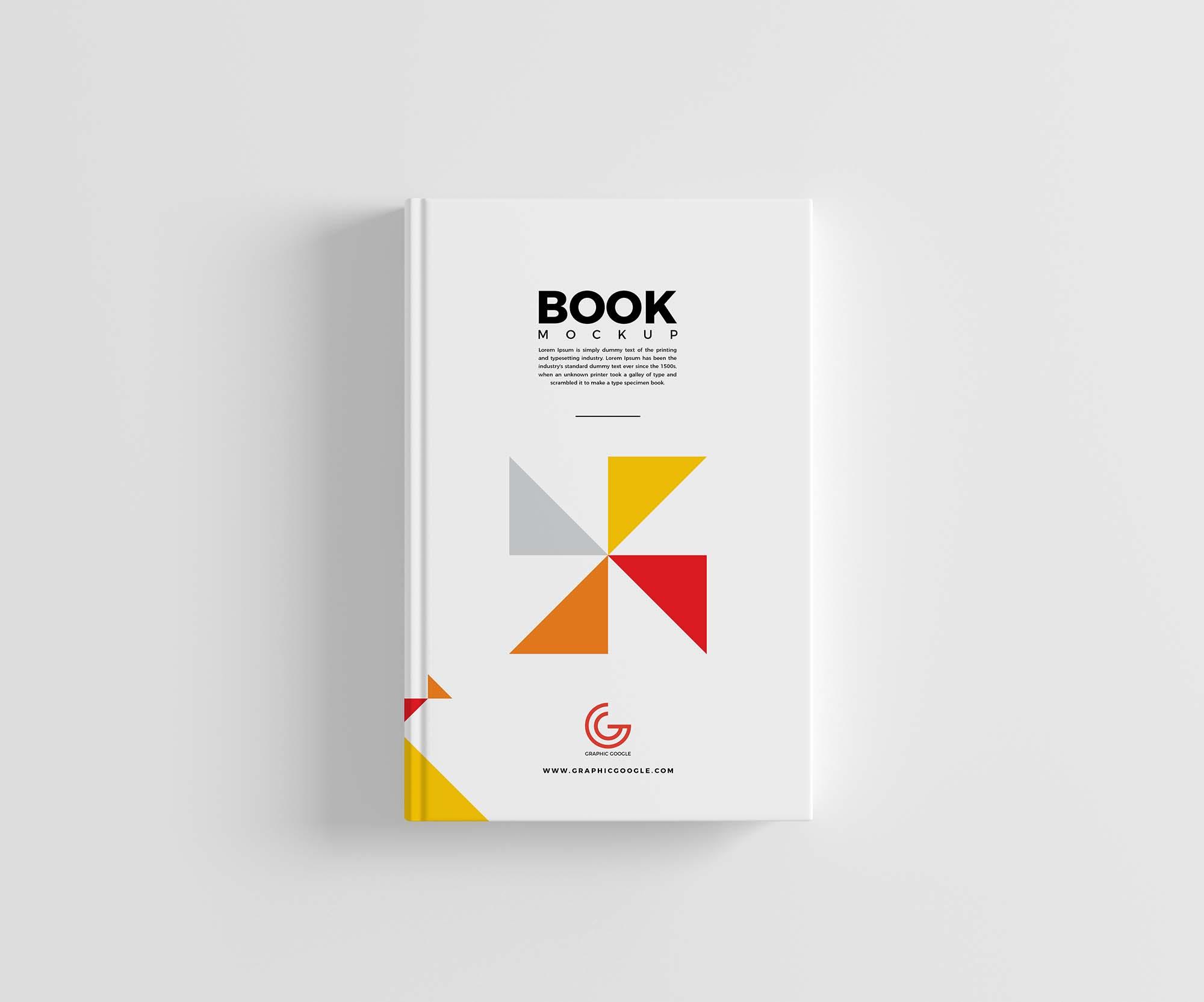 Book Hard Cover Mockup