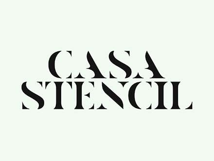 Casa Stencil Font