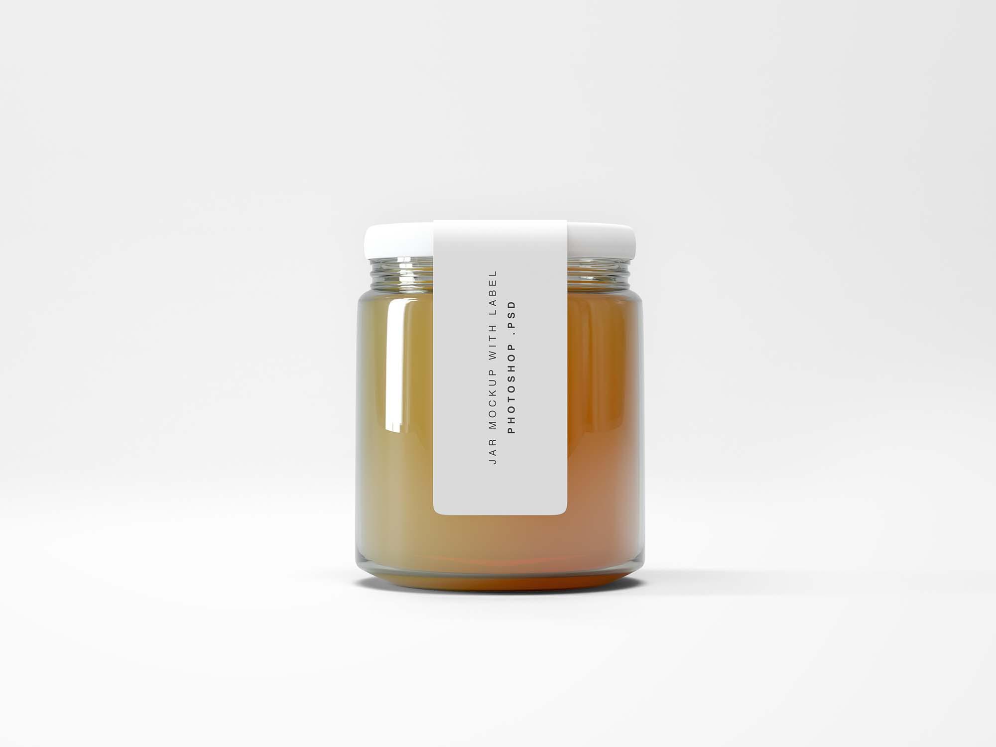 Compact Jar Mockup