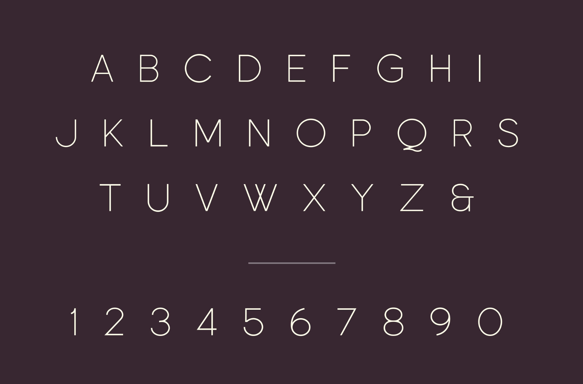 Free Particle Font