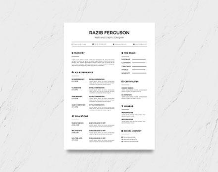 Multi-format Resume Template