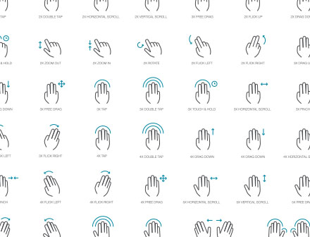 Gesture Icons