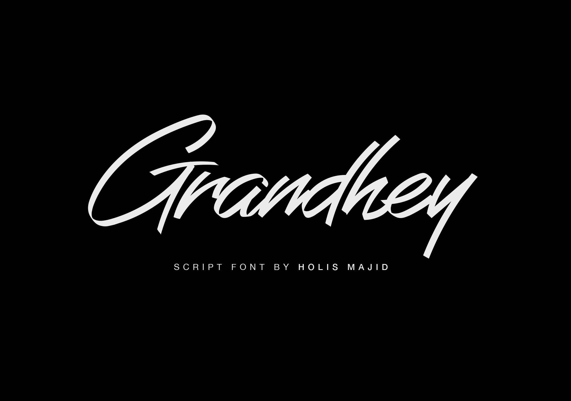Grandhey Font