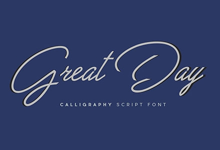 Great Day Script Font