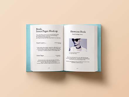 Hardback Book Mockup