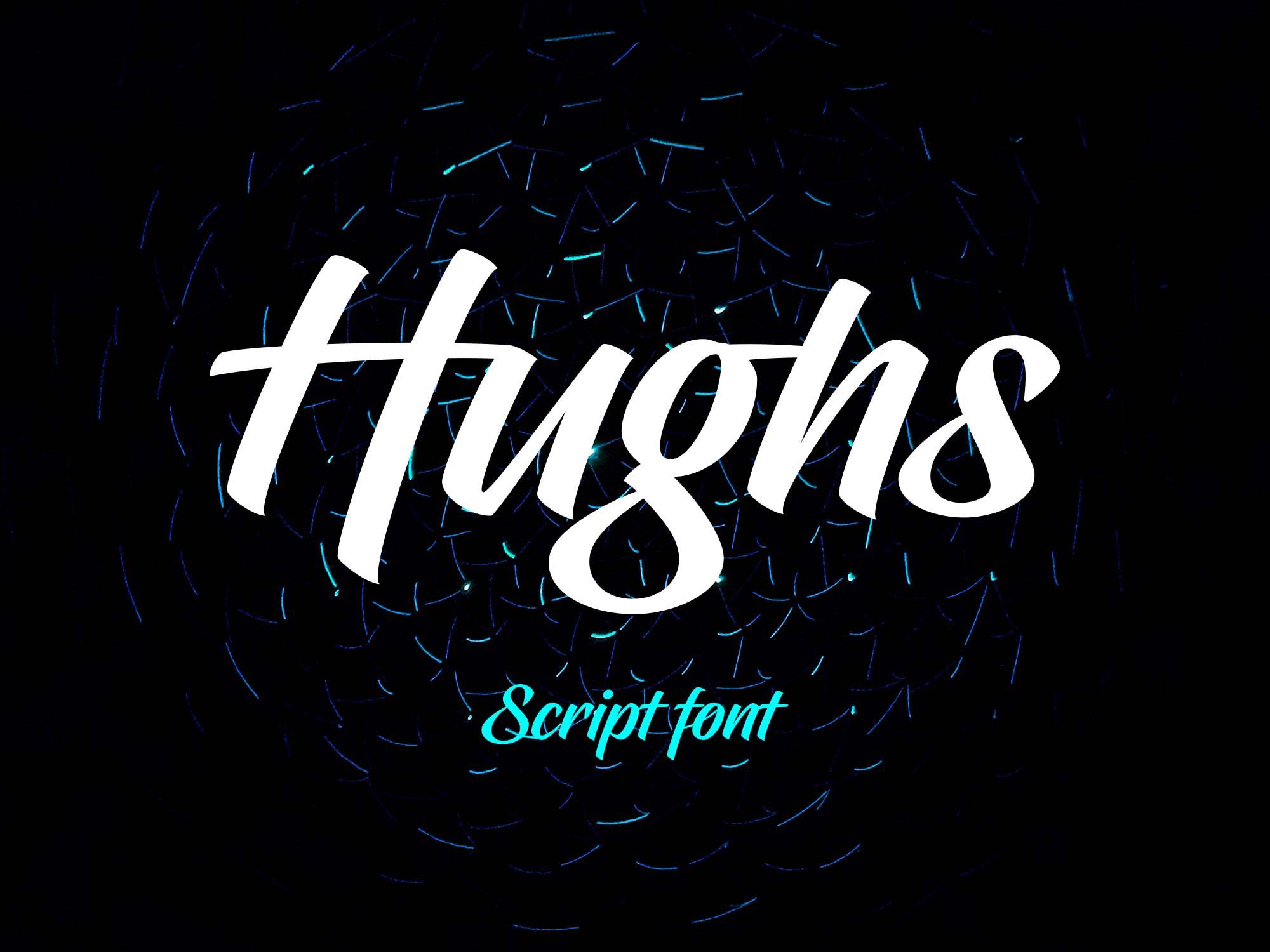 Hughs Brush Script Font