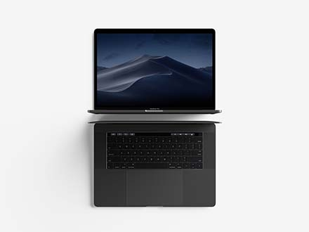Macbook Laptop Mockup