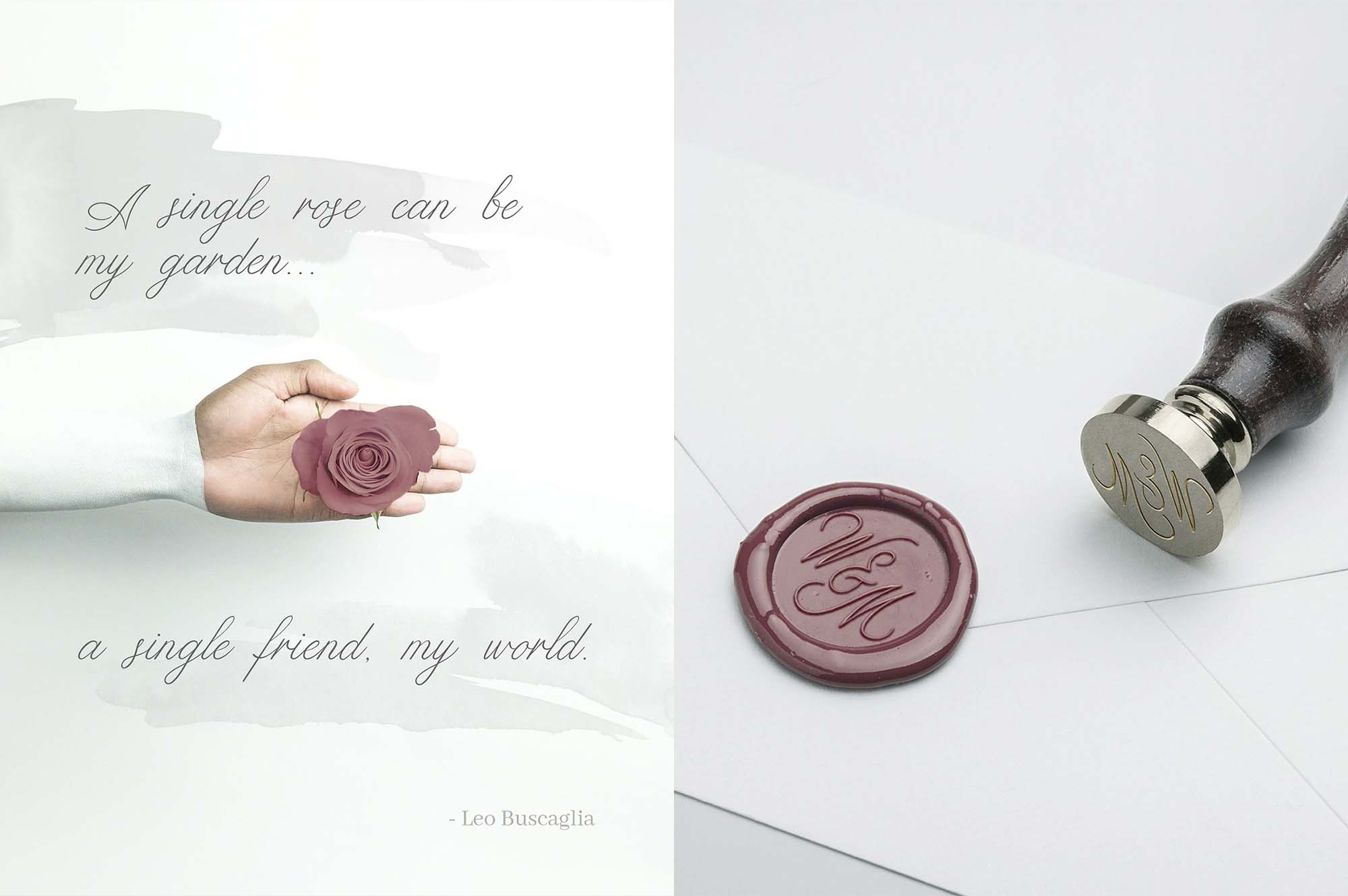 Limerence Script Font - Rose
