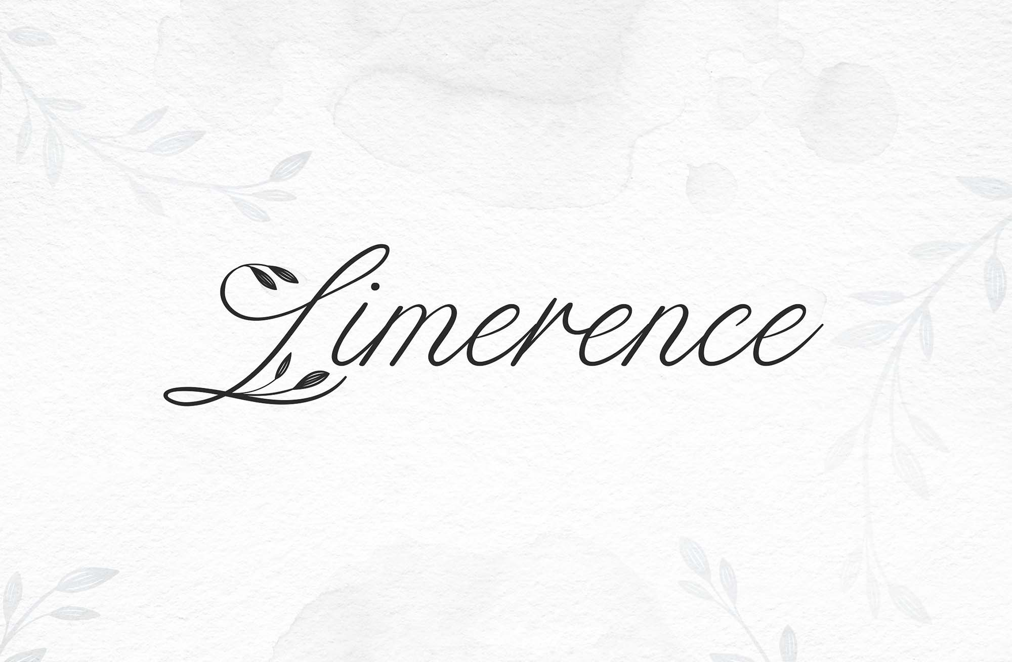 Limerence Script Font